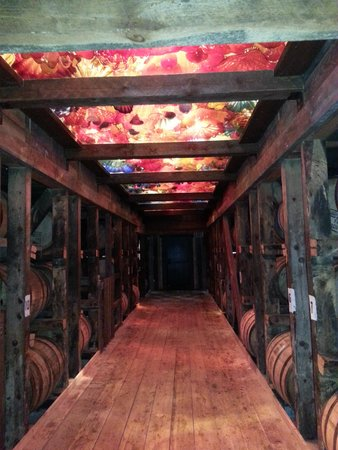 Maker's Mark: The aging room