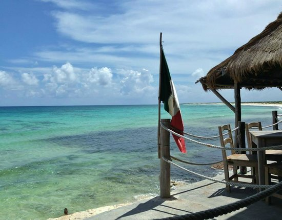 Playa Bonita: la vista dal locale
