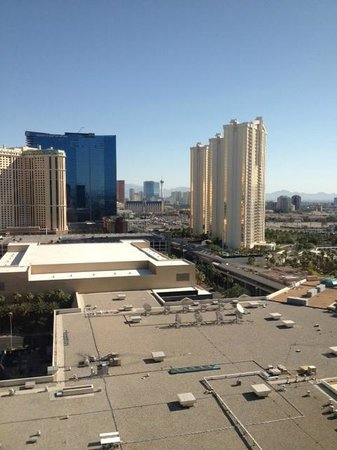 MGM Grand Hotel and Casino : View from our room of the strip
