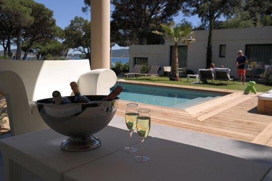 Villa Californie : Coupe de champagne