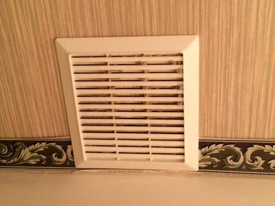 Clarion Hotel : vents have never been clean