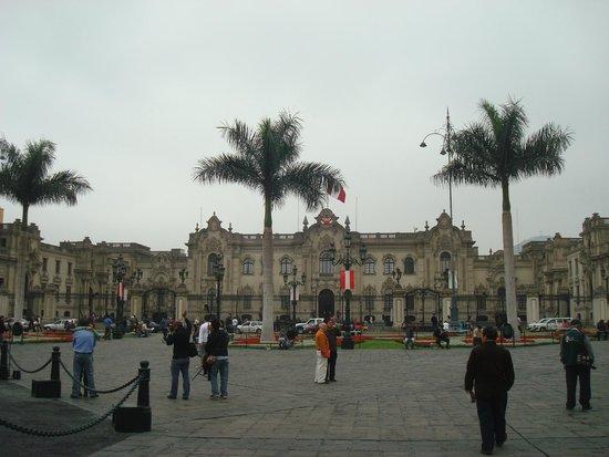 Barranco: plaza de armas