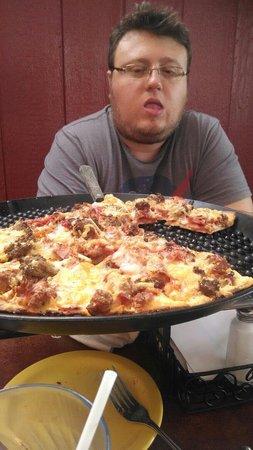 Silver Beach Pizza: Delicious pizza!