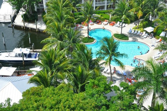 Hilton Fort Lauderdale Marina: The view from our room