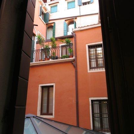 Alcyone Hotel: Window view