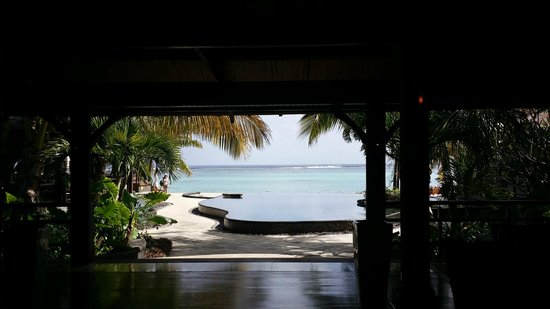 LUX Le Morne : View from the main lobby