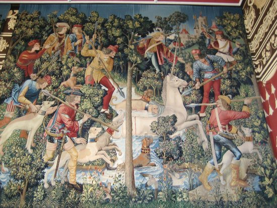 Stirling Castle: Tapestries