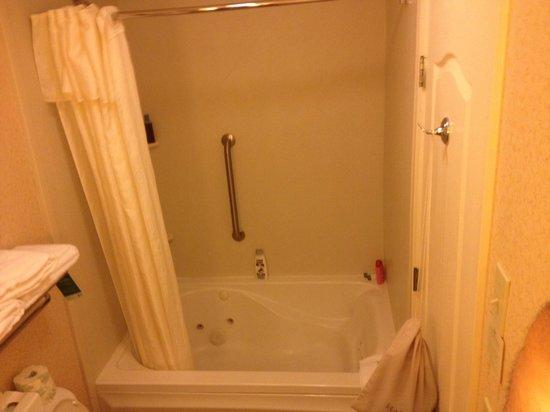 Homewood Suites by Hilton Boston/Cambridge-Arlington: Master bath