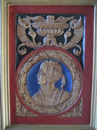 Stirling Castle: carvings