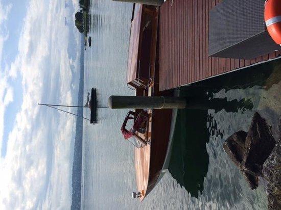 La Reserve Geneve Hotel & Spa: The boat