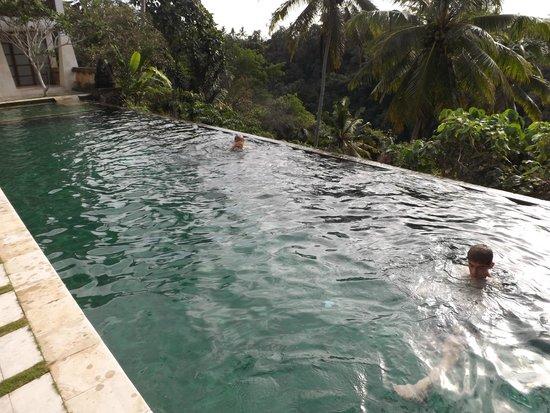 Sunset Hill : piscine presque privée