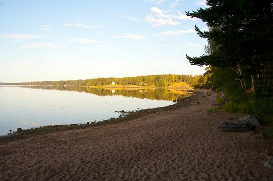 Hotel Rantapuisto: beach view