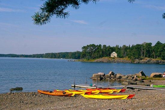Hotel Rantapuisto : Rantapuisto beach view