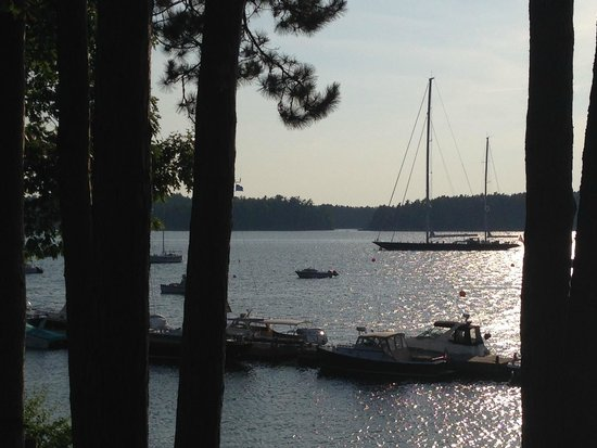 Abel's Lobster Pound: View from our picnic table