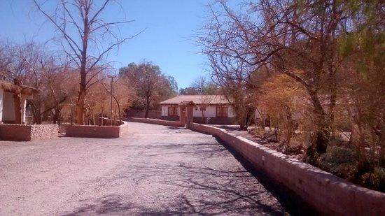 Hosteria San Pedro de Atacama: desde la entrada del hotel