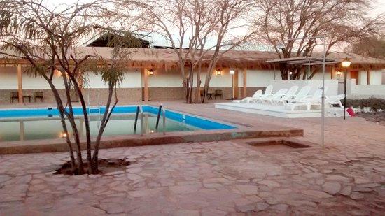 Hosteria San Pedro de Atacama: Parte de descanso y piscina