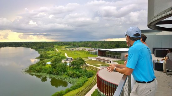 Streamsong Resort: view from the roof bar