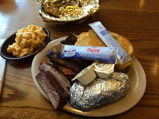 Sonny's BBQ: All you can eat rib plate.