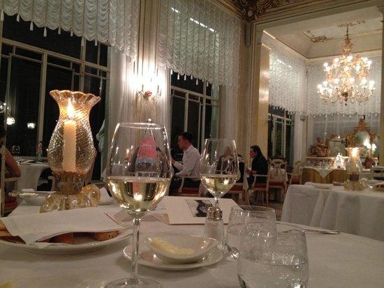 Grand Hotel Des Iles Borromees : La sala dove abbiamo cenato