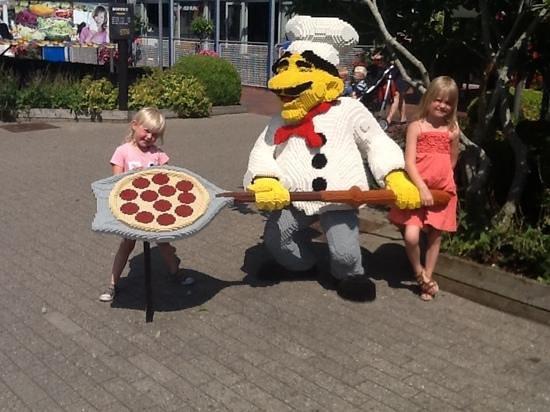 Legoland Billund: pizza
