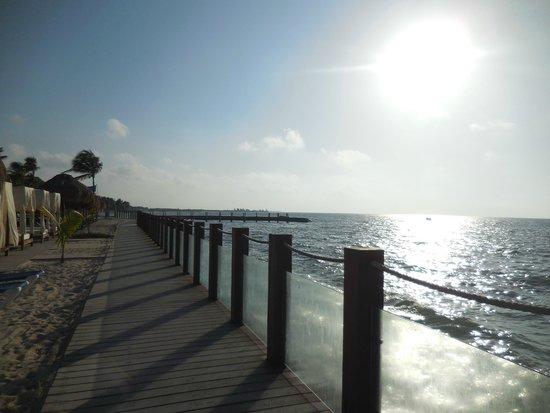 Ocean Maya Royale Boardwalk On The Beach