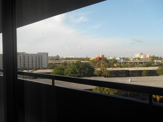 Rosen Inn International: View from the room of Universal Studios/Islands of Adventure