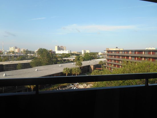 Rosen Inn International: View from the room of the hotel/Orlando