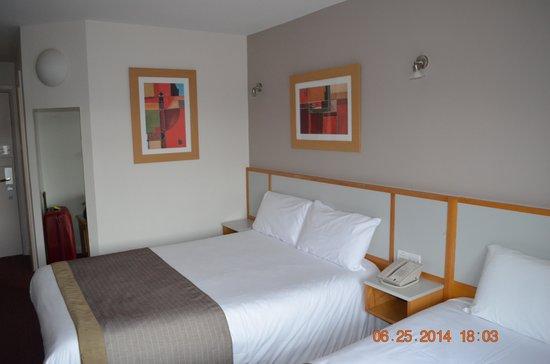 Limerick City Hotel: vue depuis la fenêtre de la chambre