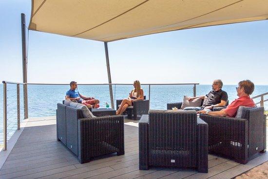 Hôtel Punta Lara : Terrasse Punta Noirmoutier