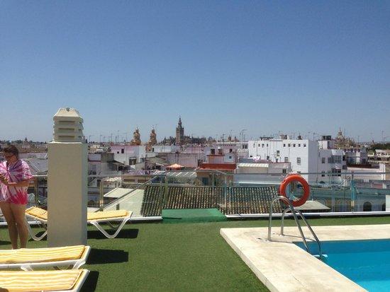 Hotel Don Paco: Erg mooi uitzicht over de stad