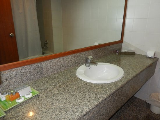 The Twin Towers Hotel: Baño