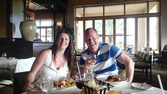 Caretta on the Gulf: Dinner