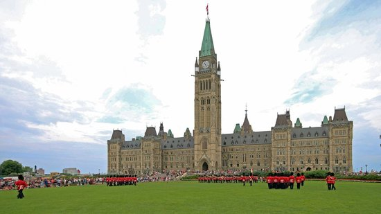 Changing of the Guard: Changing of Guard on Parliament Hill