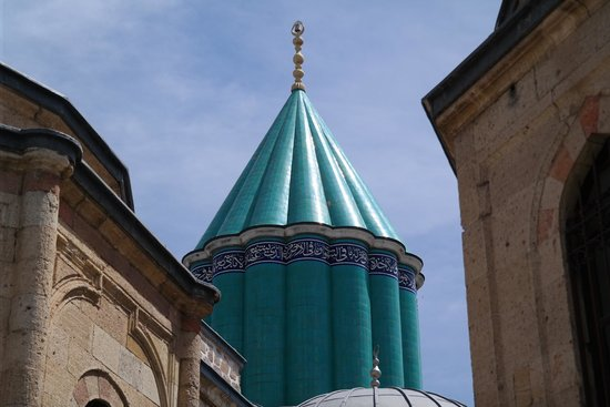 Beautiful Minaret of Mevlana Museum