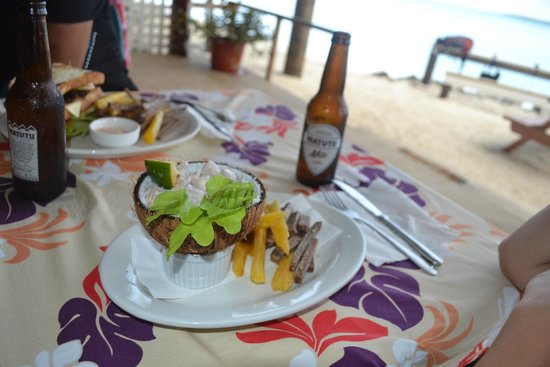 Samade on the Beach Restaurant & Bar: Ikamata