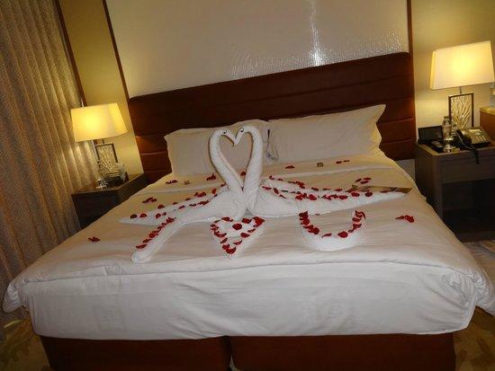 Jumeirah Beach Hotel: Bed