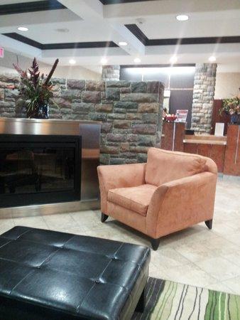 Ramada Stettler: Part of Lobby.