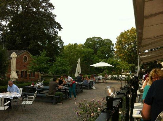 Hotel Skeppsholmen: Restaurant outdoor