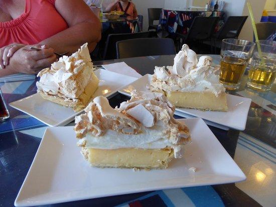 Kingfisher: Now that's a lemon meringue pie!