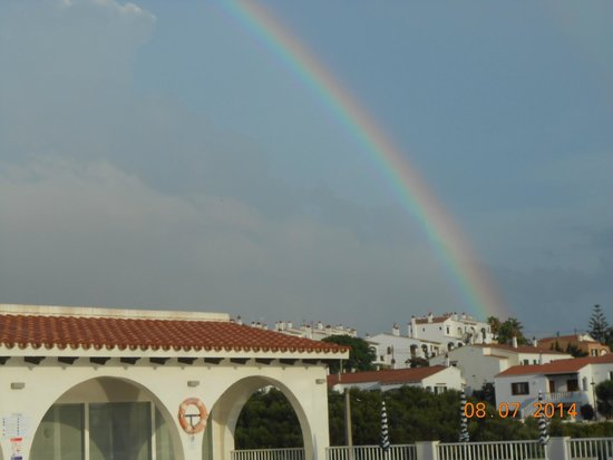 Hotel Playa Azul: Rainbow over Playa Azul