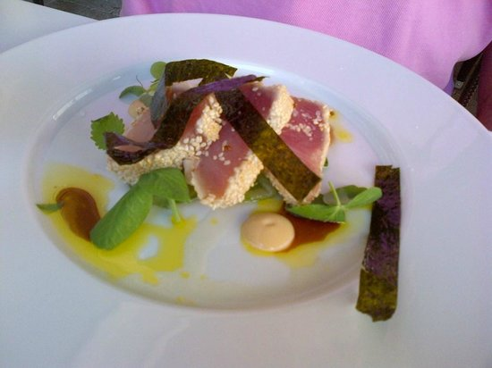 Treadwell: Sesame crusted tuna special