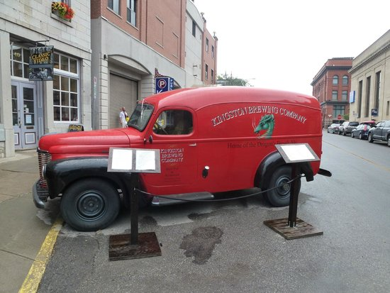 Kingston Brewing Co: The beer delivery truck