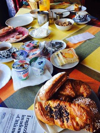 B&B Partenza Funivia: Petit dejeuner