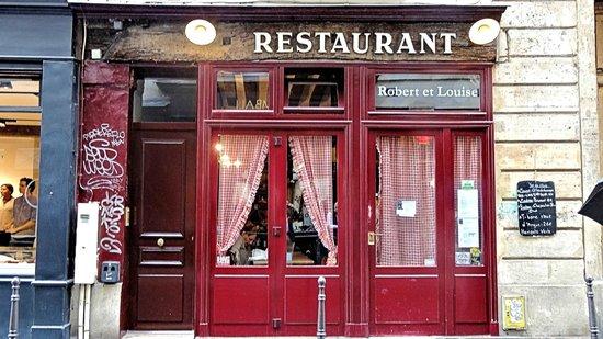 Chez Robert et Louise : Entrance
