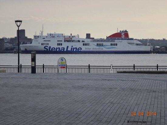 Albert Dock, Stena Line