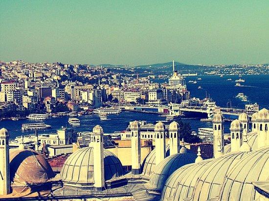 Mezquita de Suleiman o Mezquita de Süleymaniye: Panorama