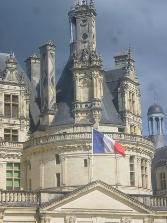 Château de Chambord : Entrée du site