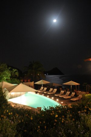 Cap Maison: our view at night