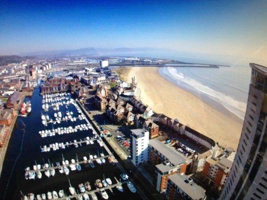 GoPro Phantom Over Swansea Marina