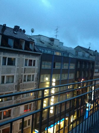 Hotelisssimo Haberstock: View from room 2